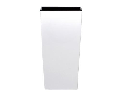 Кашпо для цветов Prosperplast Urbi Square 11+26,6л, белый