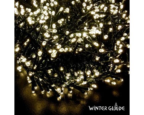 Электрическая гирлянда Winter Glade Теплый белый свет 700 ламп