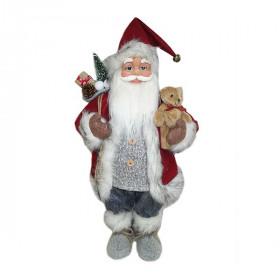 Фигурка Дед Мороз 61 см (красный/черный/серый)