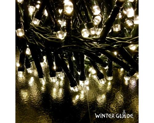 Электрическая гирлянда Winter Glade Теплый белый свет 550 ламп