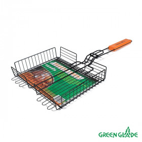 Решетка-гриль Green Glade 7001 объемная двойная антипригарная