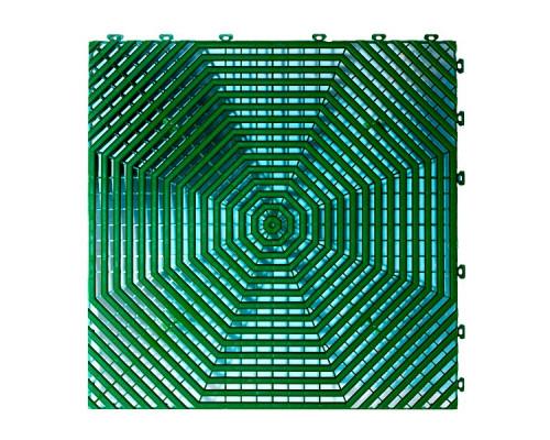 Модульное покрытие HELEX 6шт/уп, зеленый