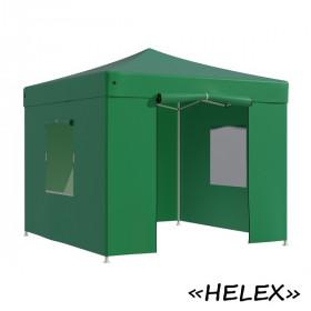 Тент-шатер быстросборный Helex 4331 3x3х3м полиэстер зеленый