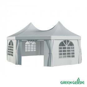 Шатер-беседка Green Glade 1052 2,5х2,5х2,5х2,5х3,4м полиэстер 2 коробки